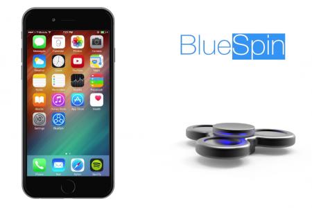 Первый в мире Bluetooth-спиннер BlueSpin с датчиками прикосновения и вращения, а также социальными функциями готовится выйти на Indiegogo по цене $49