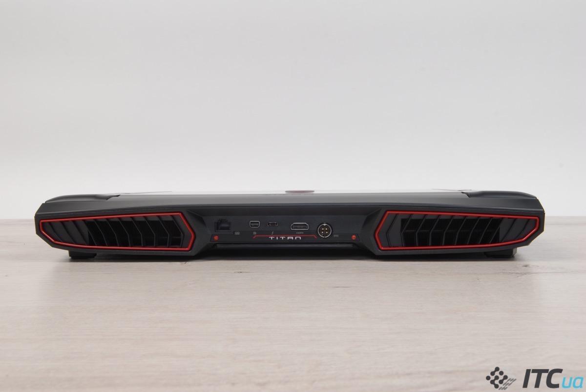 Обзор игрового ноутбука MSI GT73VR 7RE TITAN SLI: 4К дисплей и две GeForce GTX 1070