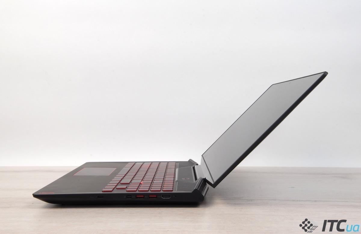 Обзор игрового ноутбука Lenovo Legion Y720-15