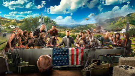 Новый геймплейный трейлер Far Cry 5 знакомит с членами сопротивления: снайпер Грейс, летчик-ас Ник и собака Бумер
