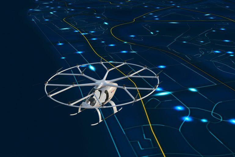 В конце текущего года в Дубае стартует тестирование электрического мультикоптера Volocopter 2X в качестве автономного летающего такси