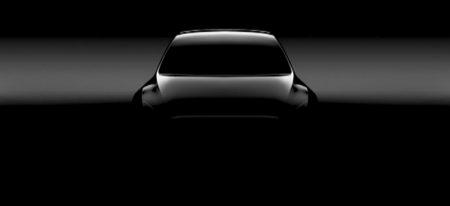 Илон Маск показал тизер-изображение нового компактного кроссовера Tesla Model Y, лишенного боковых зеркал