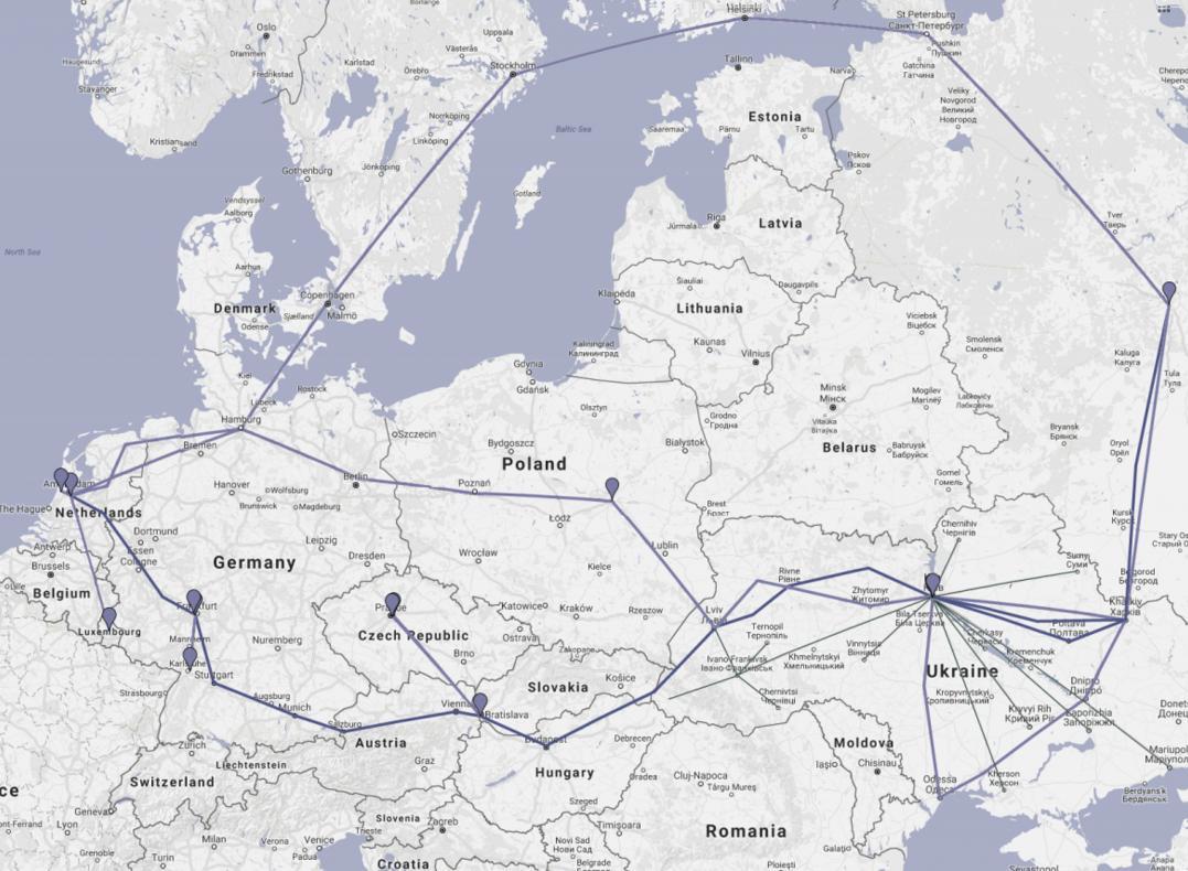 СБУ сообщила, что провайдер Wnet нестал перекрыть русские интернет-ресурсы