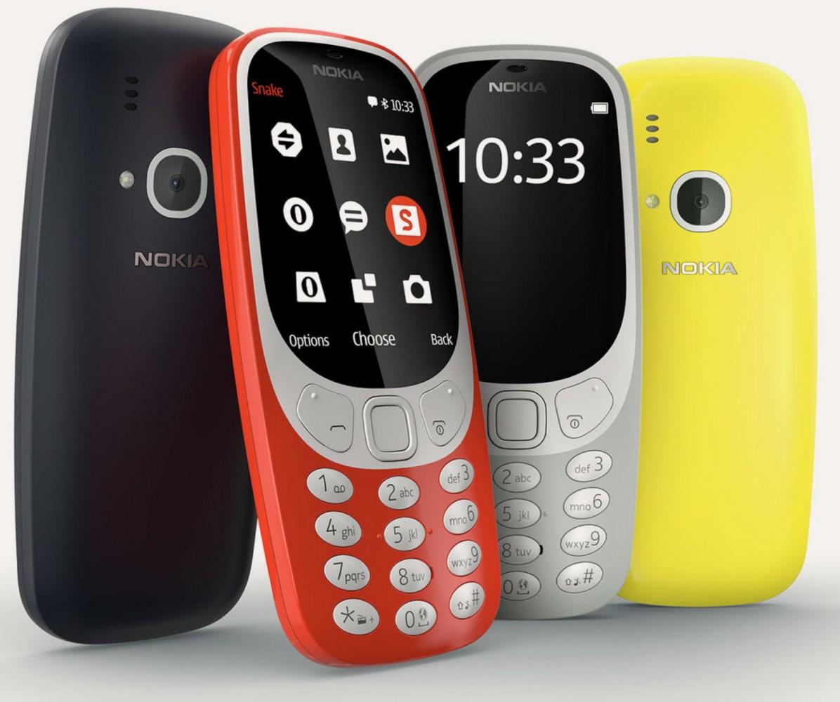 Дизайн Nokia 3310 2017
