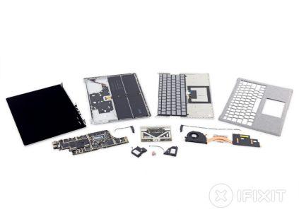 iFixit: ноутбук Microsoft Surface Laptop совершенно непригоден для ремонта