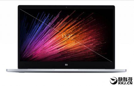 Обновленный ноутбук Xiaomi Mi Notebook Air 13.3 получил CPU Intel поколения Kaby Lake, видеокарту GeForce MX150 и дактилоскопический датчик