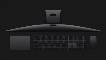 В профессиональном моноблоке iMac Pro нельзя заменить/увеличить ОЗУ (припаяна к плате), фирменные клавиатура и мышь в цвете Space Gray отдельно продаваться не будут