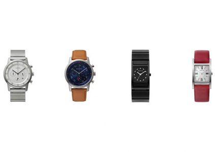 Sony анонсировала компактную версию умных часов Wena Wrist Three Hands Square и кожаные ремешки для них