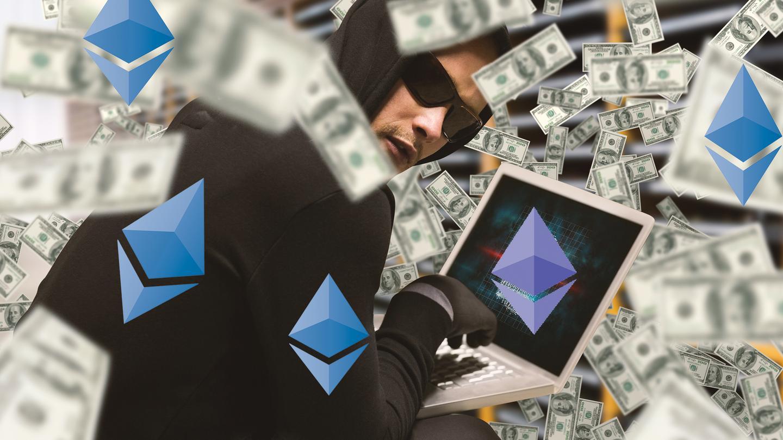 Умайнеров криптовалюты Ethereum украли десятки млн. долларов