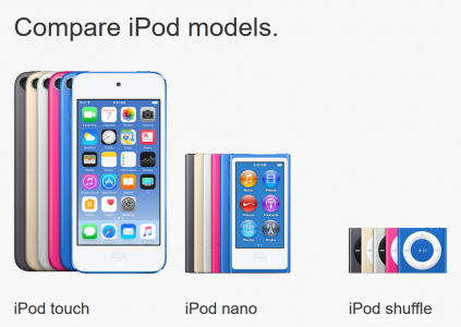 "Конец эпохи: Apple ""убила"" плееры iPod nano и iPod shuffle, оставив любителям музыки только iPod touch"