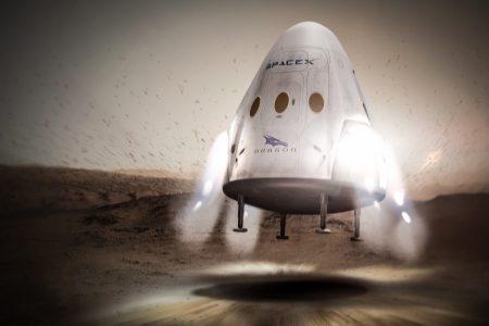 Новости SpaceX: отказ от реактивной посадки Dragon 2, риск недолета Falcon Heavy до орбиты и повторные запуски за 24 часа в 2018 году