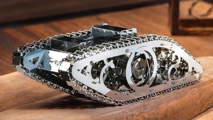 Украинские 3D-конструкторы Ugears и Time 4 Machine собрали на Kickstarter в несколько раз больше средств, чем было намечено