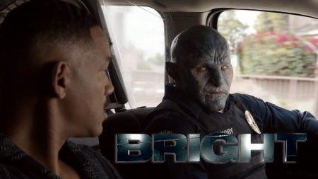 Вышел первый полноценный трейлер фантастического боевика «Яркость» / Bright с Уиллом Смитом в главной роли