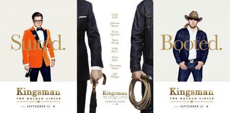 Вышел второй трейлер шпионского боевика «Kingsman: Золотое кольцо» / Kingsman: The Golden Circle