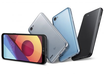 LG опубликовала первое промовидео новой линейки смартфонов LG Q6 (Q6α, Q6+)