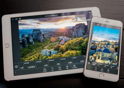 Adobe обновила приложение Photoshop Lightroom для iOS, добавив поддержку Apple Pencil и 3D Touch