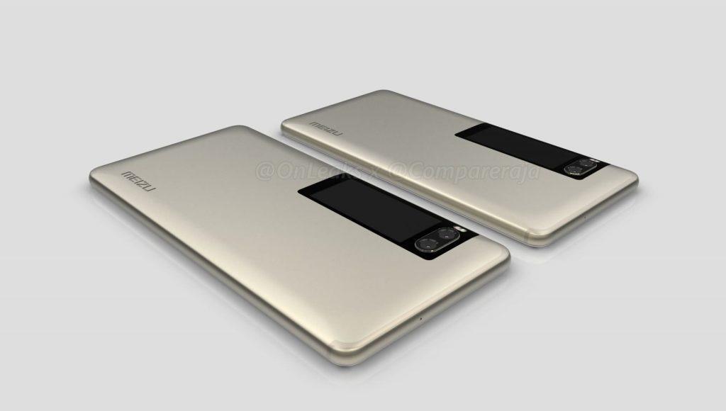 Дополнительный дисплей смартфона Meizu Pro 7 запечатлен на видео