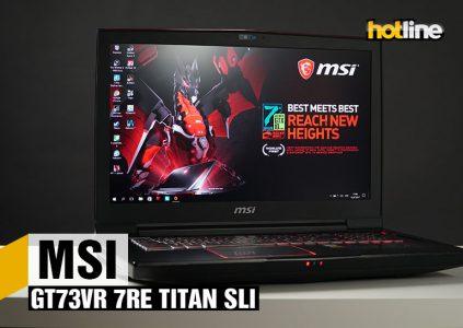 Видеообзор игрового ноутбука MSI GT73VR 7RE TITAN SLI