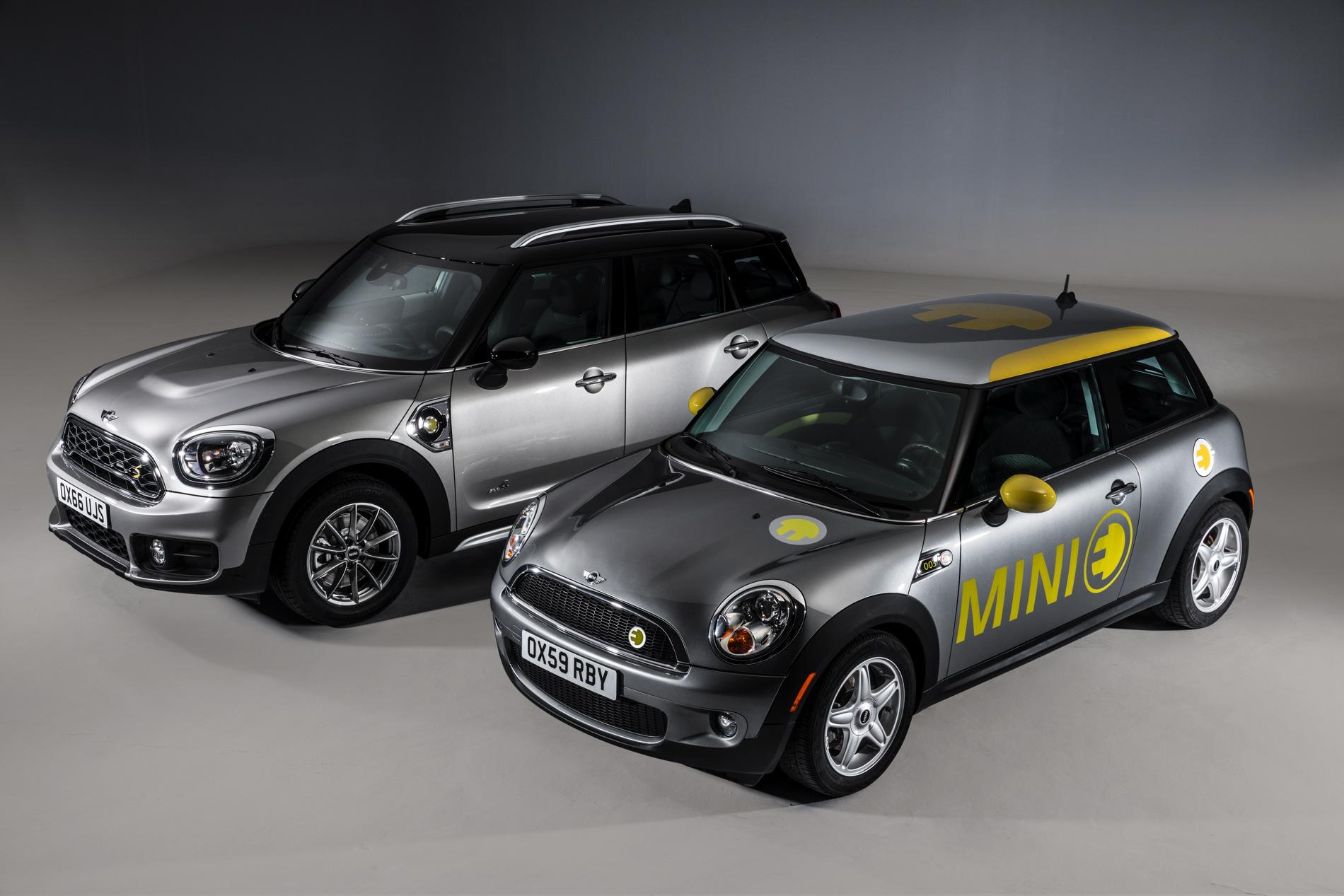 Мини выпустит свой 1-ый серийный электрокар Cooper E в 2019г.
