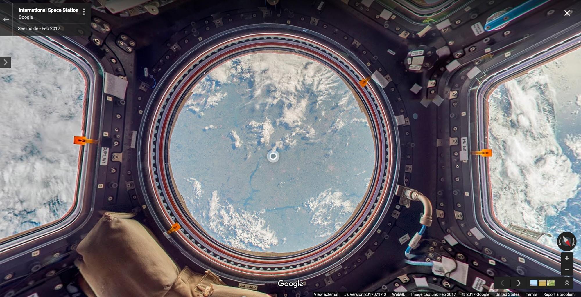 Камеры МКС засняли приближение гигантского НЛО