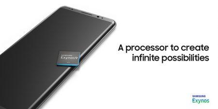 Samsung случайно раскрыла внешность смартфона Galaxy Note 8 в рекламе процессора Exynos 9