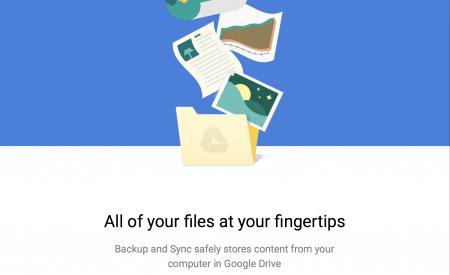 Новый инструмент для резервного копирования и синхронизации данных Google Backup and Sync стал доступен для загрузки на Mac и Windows