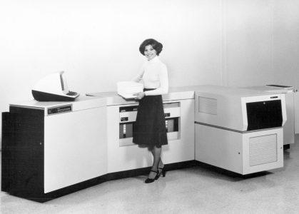 Xerox отпраздновал 40-летие первого серийного лазерного принтера Xerox 9700
