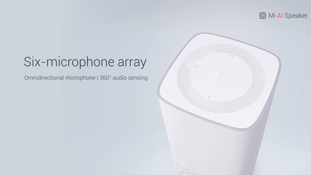 Xiaomi представила умную колонку ARM Cortex-A53