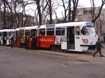 В трамваях Днепра появятся полноценные терминалы для оплаты проезда