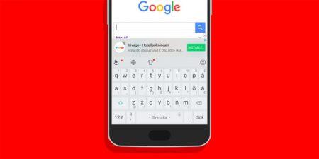Предустанавливаемая на смартфоны HTC и Meizu клавиатура TouchPal внезапно начала показывать рекламу, компания назвала это «ошибкой»