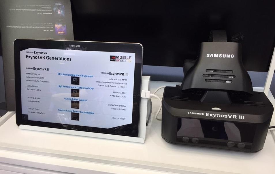 Прототип секретной VR-гарнитуры Samsung Exynos VR III может отслеживать движения глаз и рук