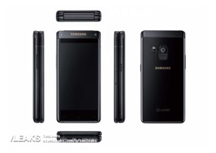 Опубликованы изображения флагманского раскладного смартфона Samsung SM-G9298