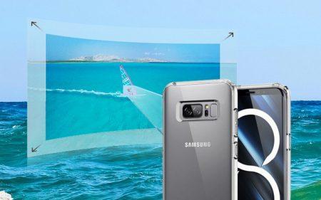 Samsung обещает, что Galaxy Note8 предложит еще более совершенные и богатые мультимедийные возможности. Опубликовано фото с передними панелями Galaxy Note 8 и iPhone 8