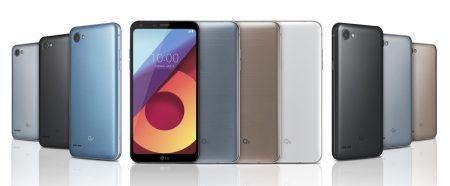 LG представила сразу три смартфона новой линейки LG Q6 с 5,5-дюймовыми дисплеями FullVision и бюджетной SoC Snapdragon 435