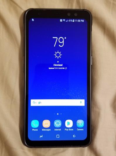 Защищенный смартфон Samsung Galaxy S8 Active получит аккумулятор емкостью 4000 мАч, опубликованы «живые» фото и видео с его участием