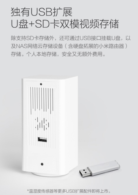 Xiaomi представила новую вращающуюся на 360° IP-камеру для дома за $22, способную снимать видео Full HD