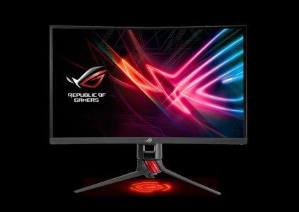 ASUS анонсировала изогнутый игровой монитор ROG Strix XG27VQ по цене $350