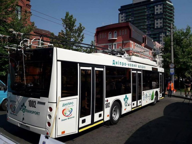 ВДнепре запустили троллейбусы савтономным ходом