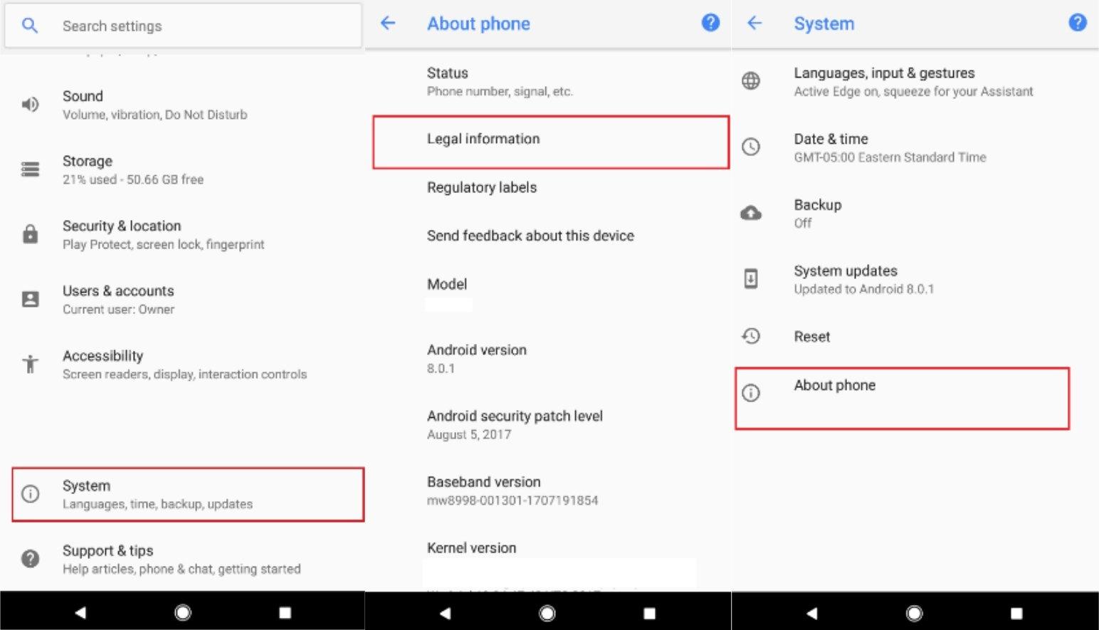 Смартфон Google Pixel 2 с Android 8.0.1 прошел сертификацию FCC, подтверждены чувствительные к нажатиям грани Active Edge