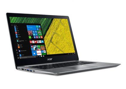 Ноутбук Acer Swift 3 тоже получил процессор Intel Core восьмого поколения