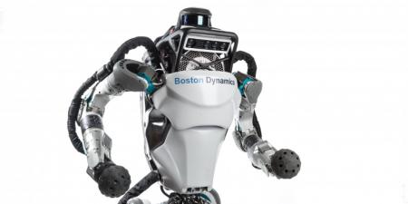 «Этот неловкий момент»: Человекоподобный робот Atlas упал со сцены во время презентации [Видео]