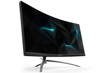 Acer создала игровые 35-дюймовый изогнутый монитор и мышь с возможностью настройки сопротивления клику