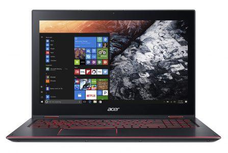 Игровой ноутбук Acer Nitro 5 Spin на процессоре Intel Core восьмого поколения нацелен на казуальных игроков