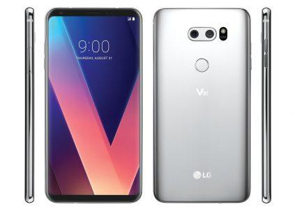 Смартфон LG V30 позирует на «живом» фото накануне официальной премьеры