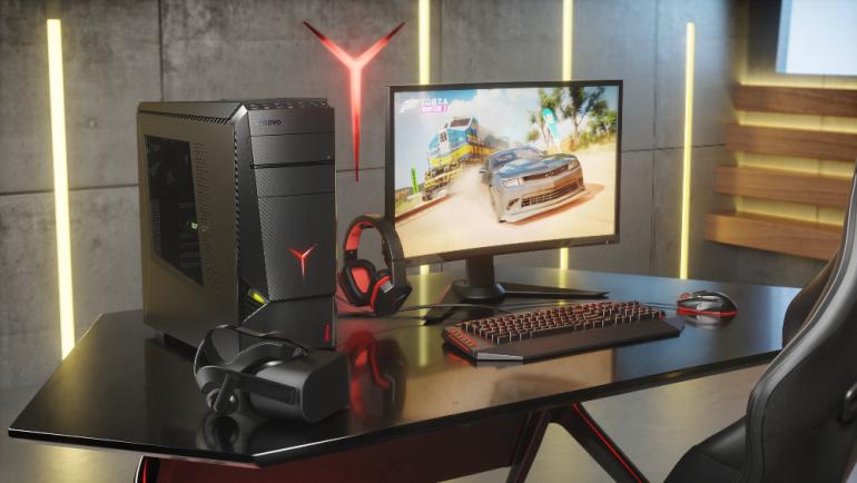 Lenovo выпустила три игровых компьютера для проектов VR