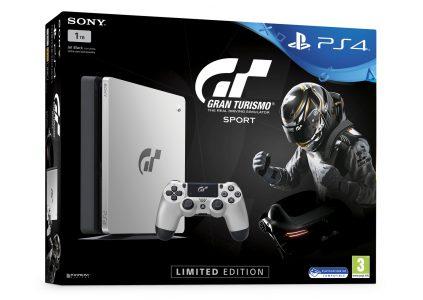 Лимитированная серия PlayStation 4, посвященная автосимулятору Gran Turismo Sport, поступит в продажу одновременно с релизом игры – 18 октября