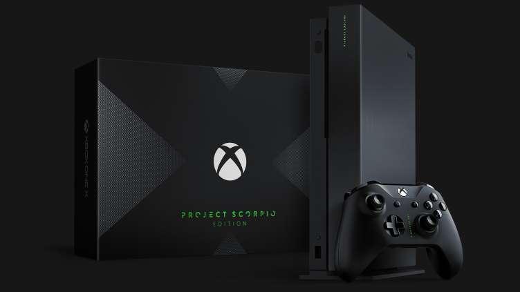Многие игры предложат заметные улучшения при запуске на консоли Xbox One X, стартовали предпродажи специальной версии Project Scorpio Edition