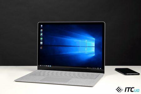 Обзор ноутбука Microsoft Surface Laptop