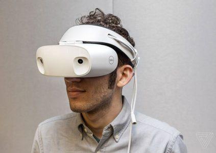 Dell создала гарнитуру смешанной реальности Visor для платформы Windows Mixed Reality