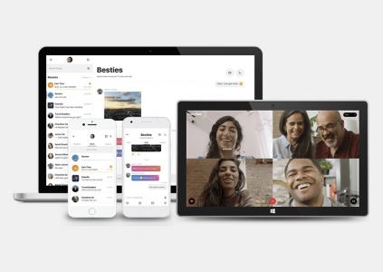 В Skype для Android добавлены темы, индикаторы активности и сортировка чатов